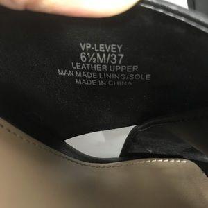 Vince Camuto Shoes - Vince Camuto Levey Leather Open Toe Mule Sandals